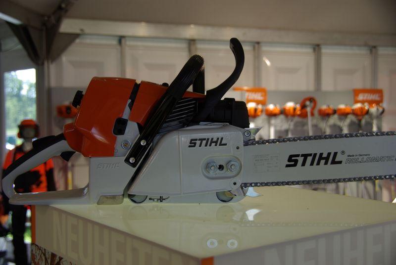 Details zur Stihl MS 461 und MS 150 • Motorsägen-Portal